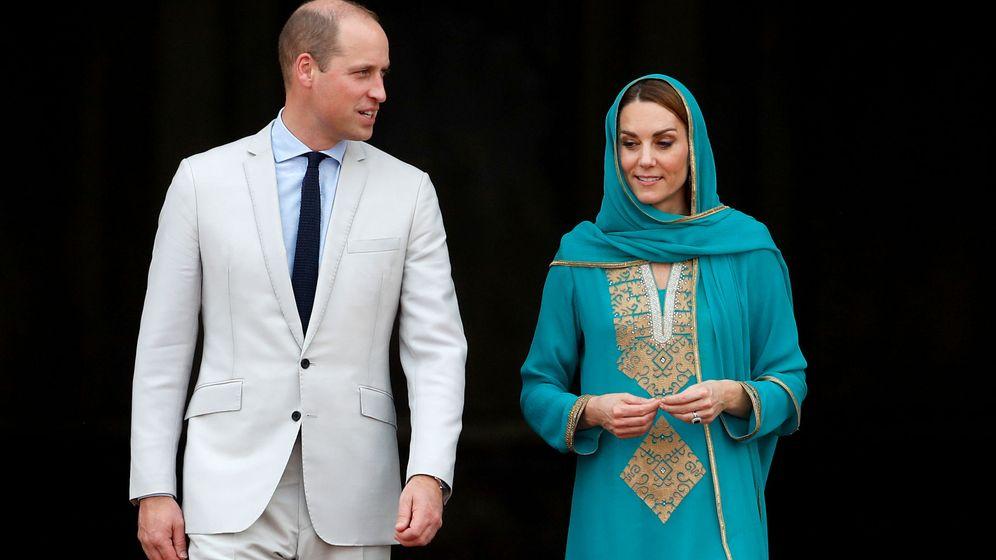 Foto: Los duques de Cambridge, hoy en Lahore. (Reuters)