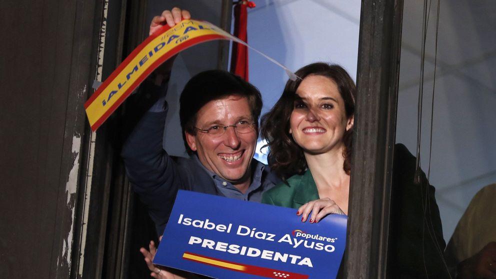 El PP retendrá la Comunidad de Madrid con Díaz Ayuso en coalición con Cs