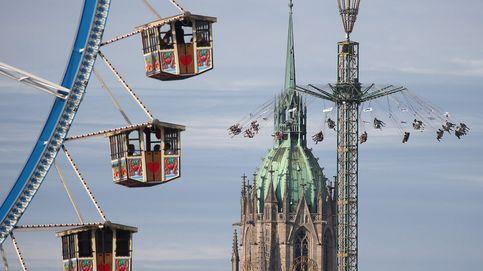 Comienza el Oktoberfest y salto de pértiga en Madrid: el día en fotos
