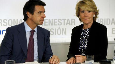 Aguirre, Soria, Rudi, Valcárcel... Sucesiones convulsas en la mitad de los congresos del PP