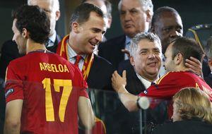Los príncipes asistirán al Atlético-Chelsea y el Rey, al Madrid-Bayern