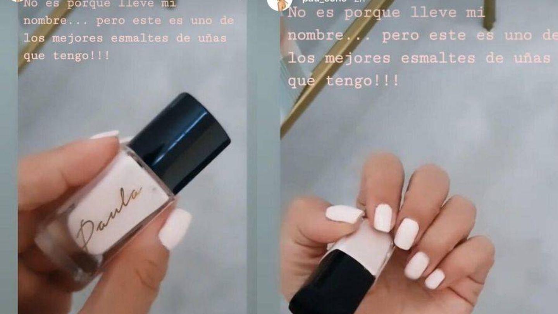 Capturas de los vídeos de 'stories'. (Instagram @pau_eche)