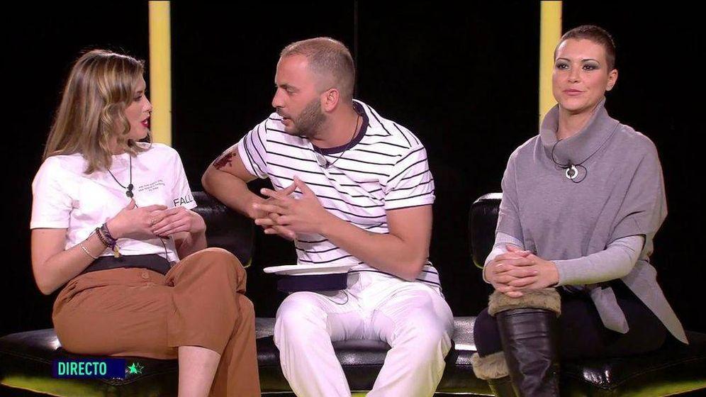 Foto: Candela, Tejado y María Jesús, en 'GH Dúo'. (Telecinco).
