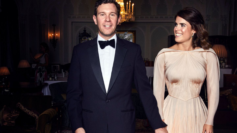Eugenie de York y Jack Brooksbank en una imagen de archivo. (EFE)