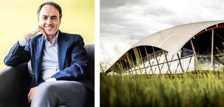 Nerio Alessandri, fundador de Technogym. Las instalaciones de Technogym Village, en Cesena, en la región italiana de Romagna.