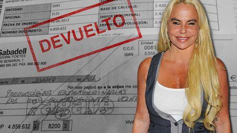 Leticia Sabater, estafada con talones sin fondos en Benidorm