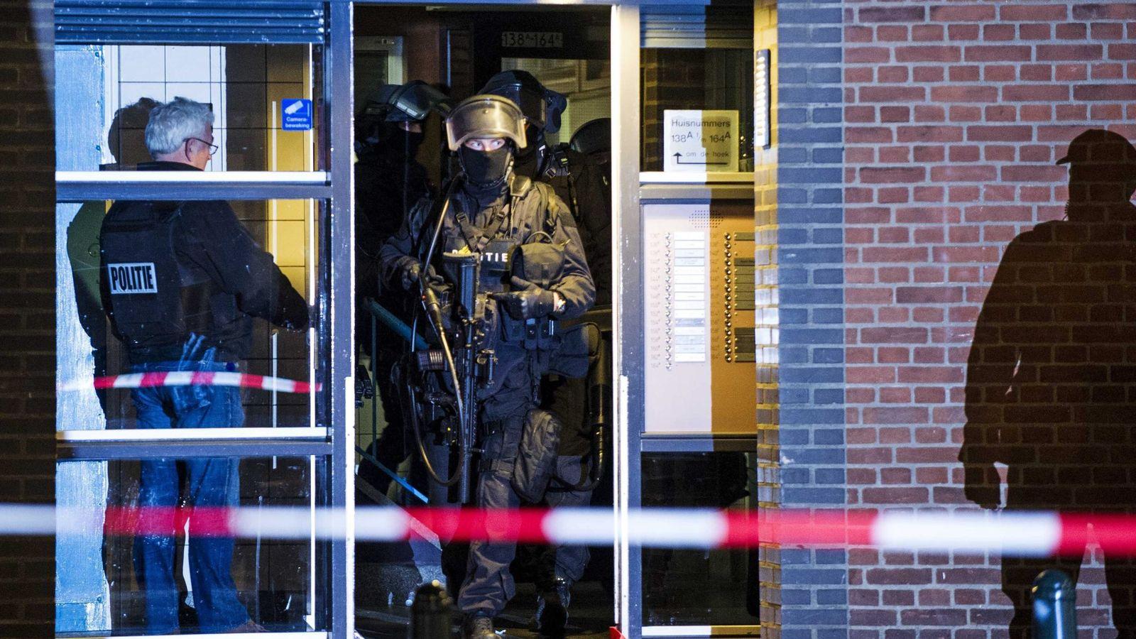 Foto: La policía holandesa ya detuvo a un sospechoso de preparar un atentado el pasado marzo (EFE)