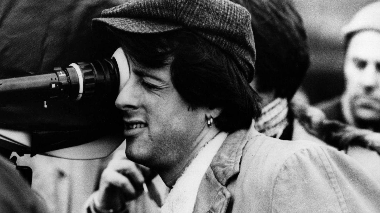 Stallone, dirigiendo 'Paradise Alley'. (Getty)