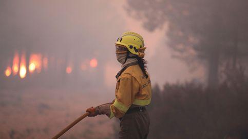 Un incendio en la Sierra de Francia (Salamanca) se encuentra fuera de control