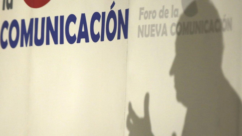 Foto: Pedro j. Ramírez, este martes, en el foro de la Nueva Comunicación (EFE).