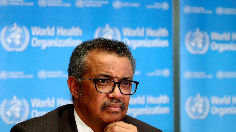 El director general de la OMS Tedros Adhanom Ghebreyesus (Reuters)