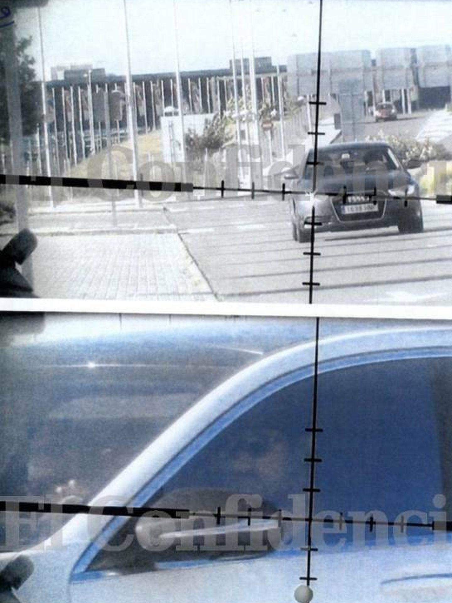 En primer plano, el delantero del Real Madrid, Karim Benzema, en el punto de mira del francotirador. (EC)