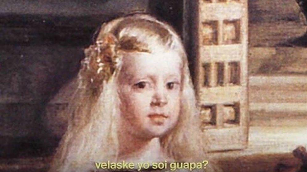 Foto: 'Velaske yo soy guapa?'