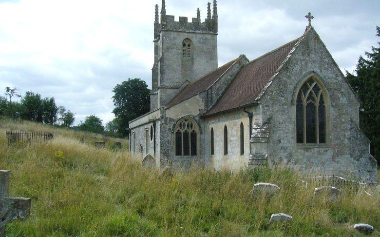 Foto:  La iglesia anglicana de San Gil (Sy Giles) en Imber. (MICHAEL BYRNE)