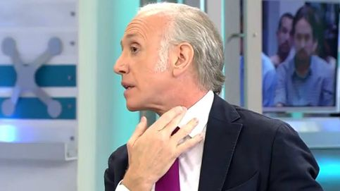 Inda denuncia en Telecinco un golpe recibido con una cámara de Mediaset