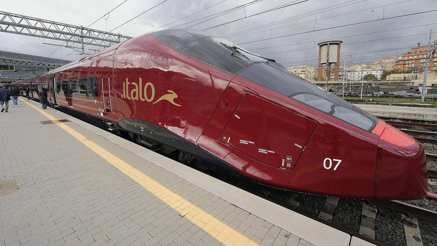 El tren de alta velocidad privado de Italo NTV. (EFE)