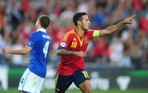 Thiago sobre Costa: Le hemos recibido genial, como a un español más