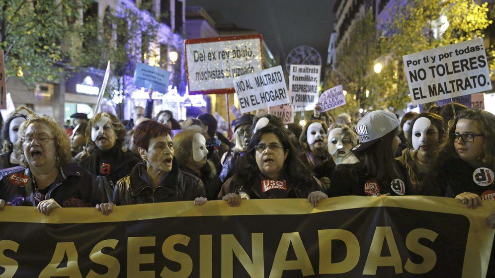 Foto: Manifesatación en contra de la violencia de género. (EFE)