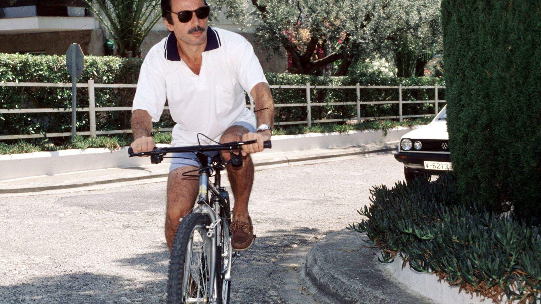 Aznar, en Oropesa en 1995. (Gtres)