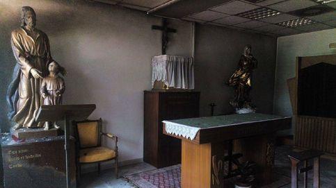Intentan quemar la capilla de la UAM: La iglesia que ilumina es la que arde