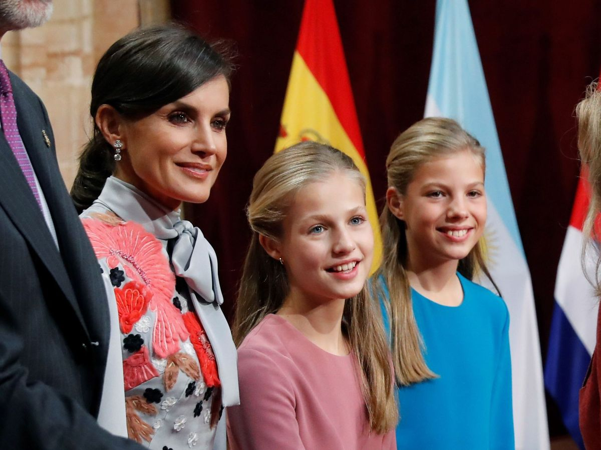 Foto: La reina Letizia y la princesa Leonor, en 2019. (EFE)