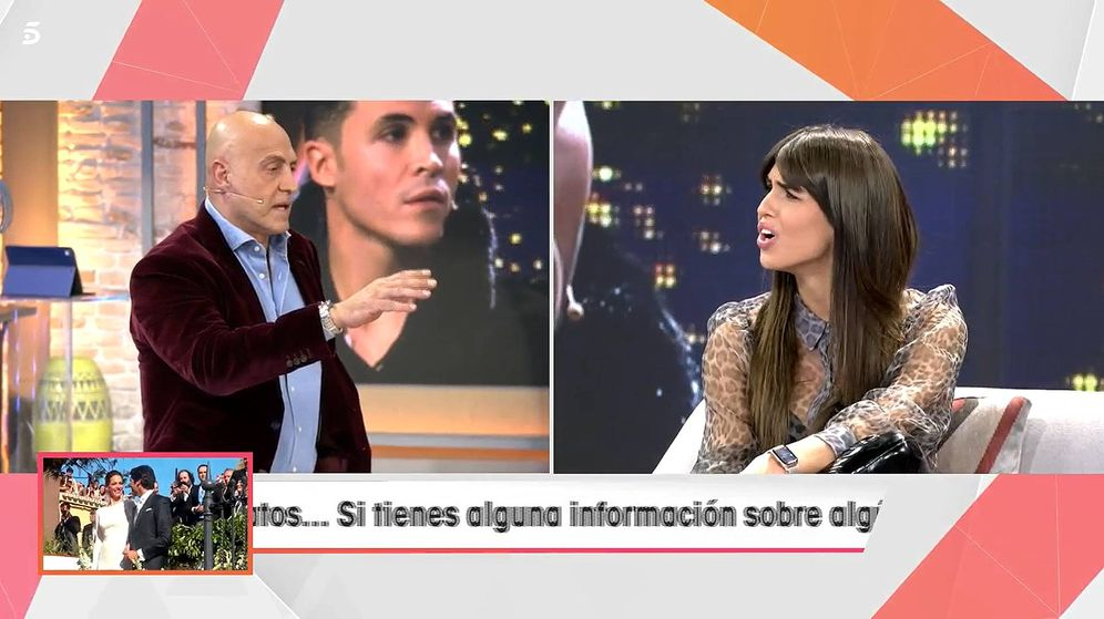 Foto: Kiko Matamoros y Sofía Suescun, en 'Viva la vida'. (Telecinco)