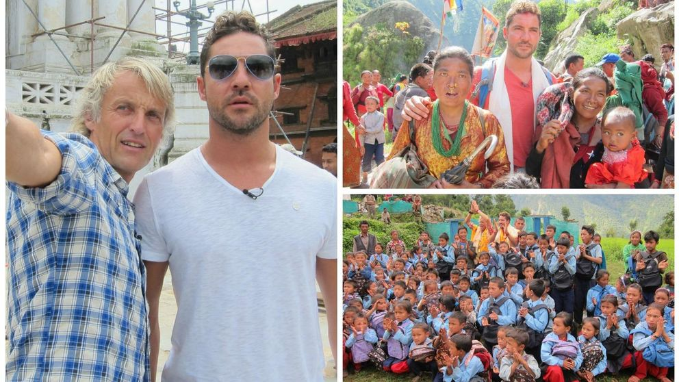 Bisbal muestra su faceta más solidaria con Nepal en 'Planeta Calleja'