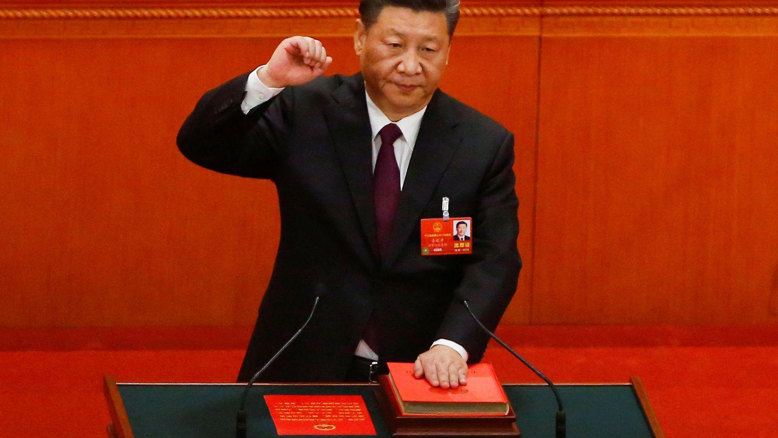 Foto: El presidente chino Xi Jinping (Reuters)
