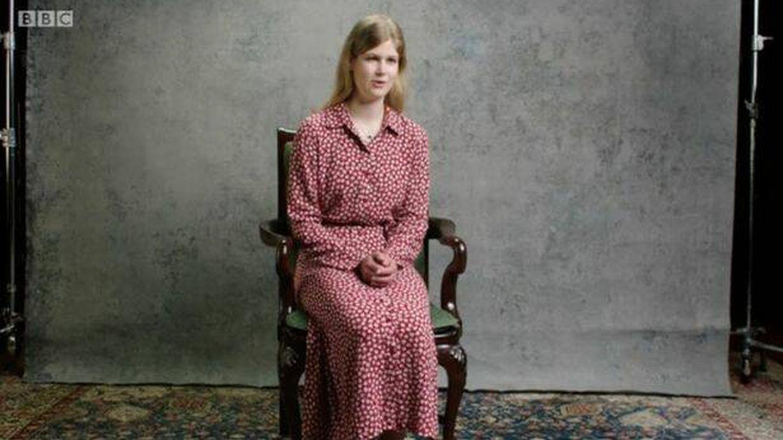 Lady Louise, durante el documental. (BBC)