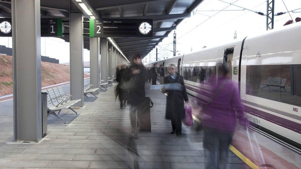 Foto: Tren de AVE en Cuenca en 2010 (EFE)