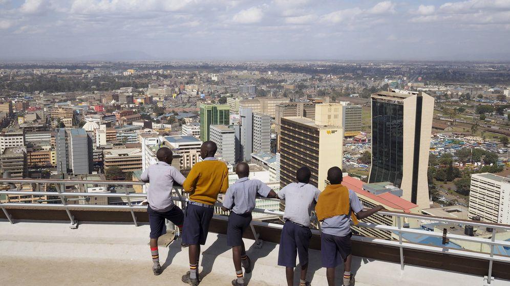 Foto: Vista del distrito financiero en Nariobi, Kenia. (Reuters)