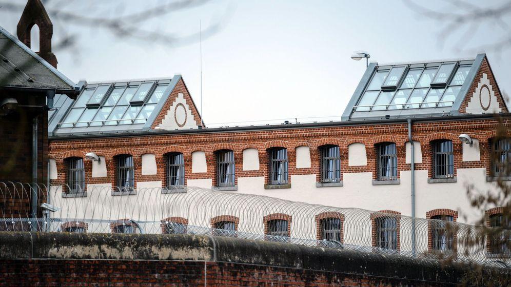 Foto: Vista de uno de los módulos de celdas de la prisión de Neumünster. (EFE)