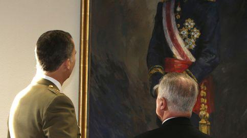 El óleo que 'destrona' al Rey Felipe VI en el Congreso