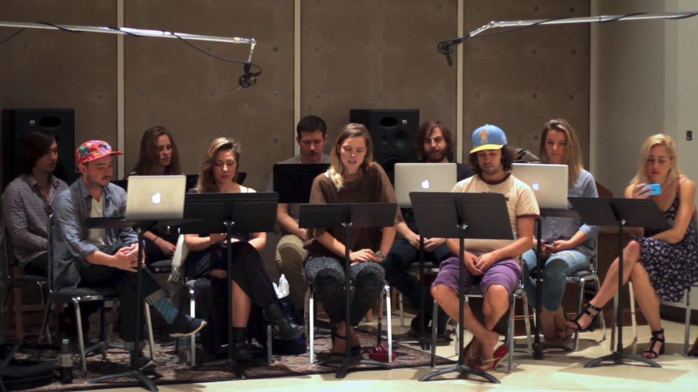 Foto: Una orquesta recita tuits a viva voz para transformarlos en música