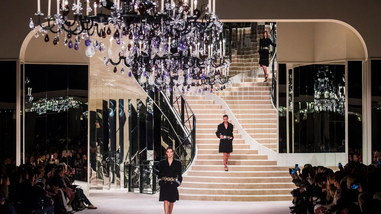 El último desfile de Chanel. (EFE)