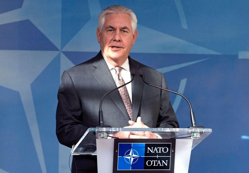Foto: Rex Tillerson participa en un encuentro en la sede de la OTAN en Bruselas, el 31 de marzo de 2017. (Reuters)