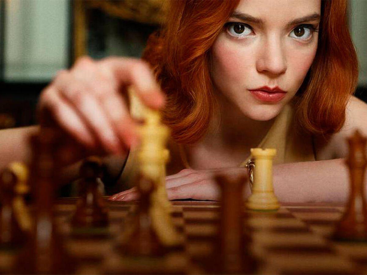 Foto: Gambito de dama ha disparado la venta de tableros de ajedrez (Netflix)