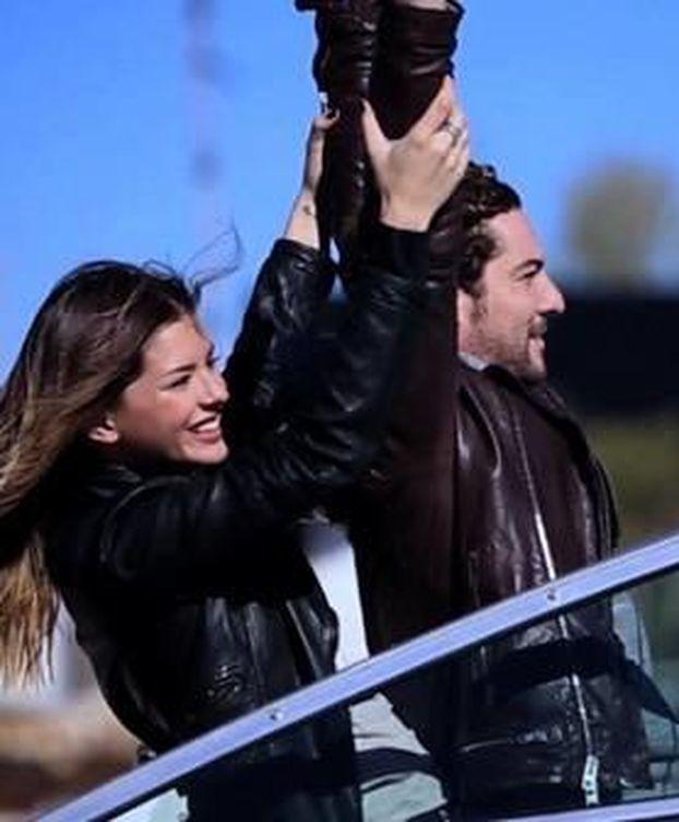 Foto: La China Suárez en el videoclip de David Bisbal