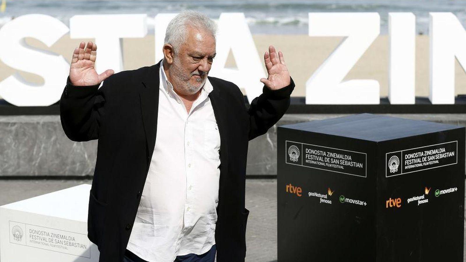 Foto: Imanol Uribe presenta 'Lejos del mar' en San Sebastián