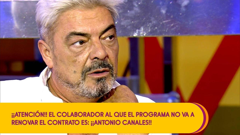 ¿Ana Rosa? La gran mentira de Antonio Canales tras ser despedido de 'Sálvame'