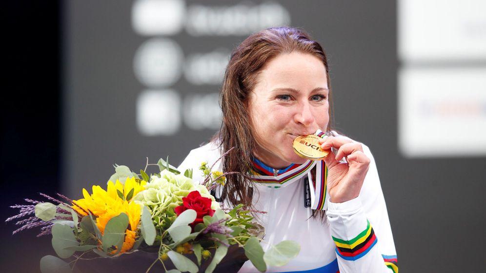 Foto: Annemiek van Vleuten, campeona del mundo y del Giro. (Reuters)