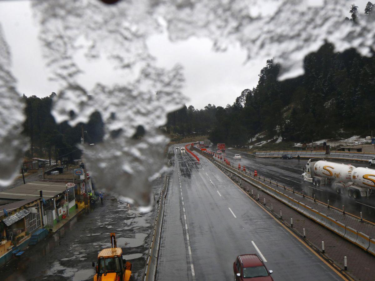 Foto: Las malas condiciones de tráfico pudieron ser claves (EFE/Francisco Guasco)