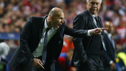 Zidane ya tiene carnet de entrenador y mete presión a Carlo Ancelotti