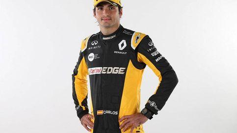 Sainz aterriza en Renault: El volante y el casco, los mayores dolores de cabeza