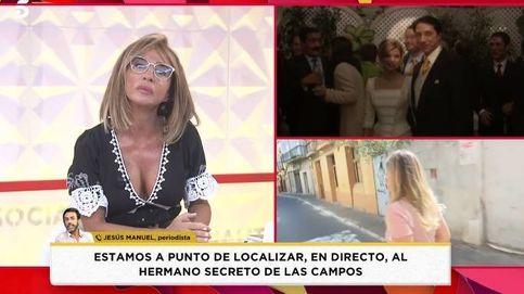 'Socialité': María Patiño localiza al hermano secreto de Terelu Campos