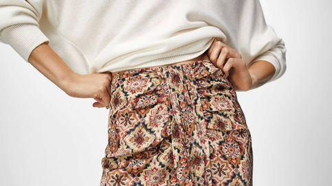 4 faldas midi o largas de Massimo Dutti para ir al trabajo y triunfar