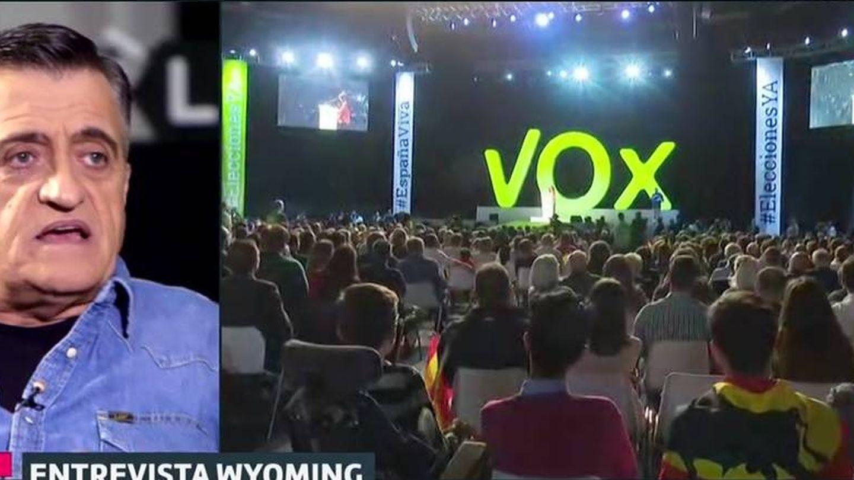Wyoming habla sobre la irrupción de Vox. (Atresmedia).