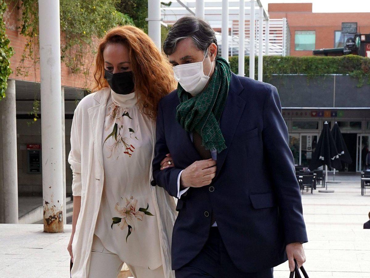 Foto: Rocío Carrasco llega a los juzgados de Alcobendas. (CP)