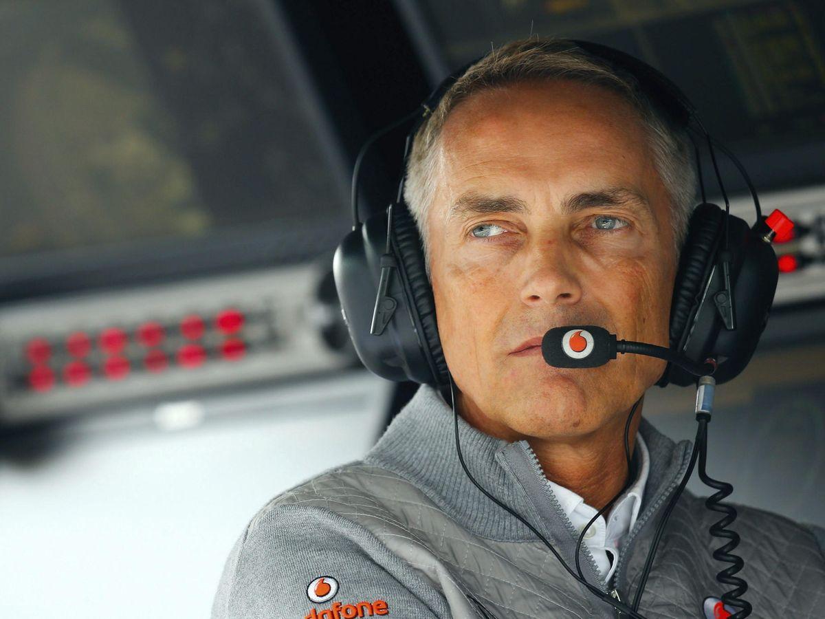 Foto: Martin Whitmarsh, en los tiempos en que dirigía McLaren tras la marcha forzada de Ron Dennis. Luego fue al revés