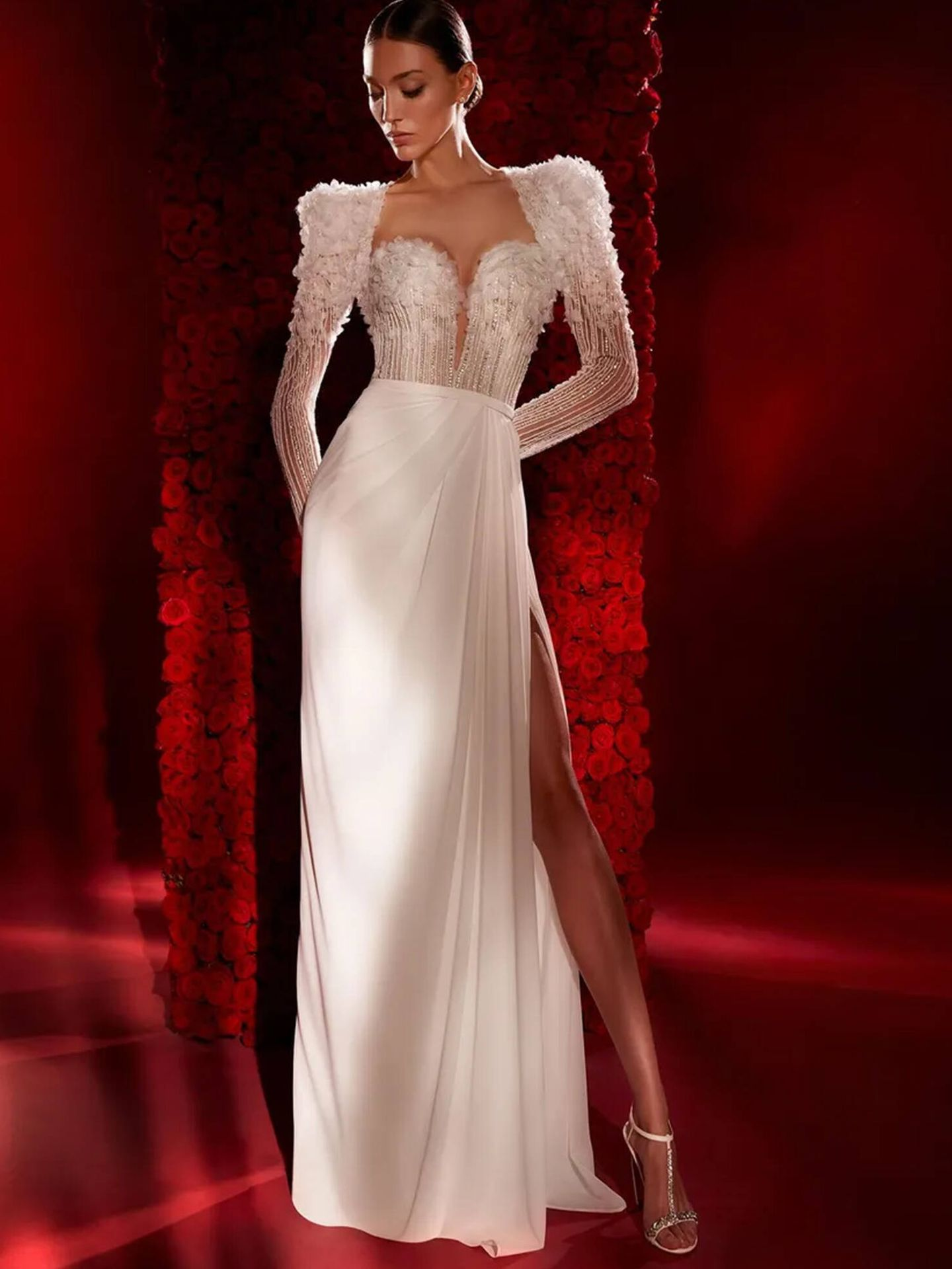 Vestido de novia de la nueva colección de Pronovias, 'New Opera'. (Cortesía)